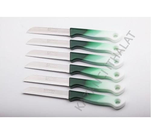 Ebruli Meyve Bıçağı koyu yeşil