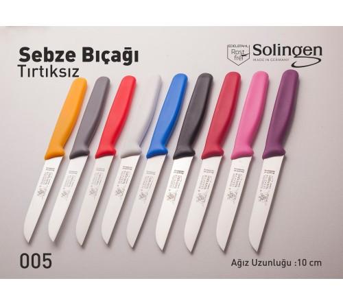 Plastik Saplı Tırtıksız Sebze Bıçağı